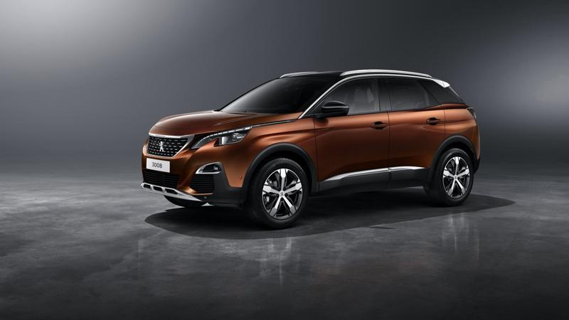 SUV lineup for Paris revealed by Peugeot