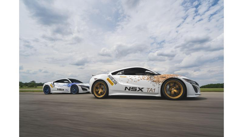2017 NSX to race at the Pikes Peak