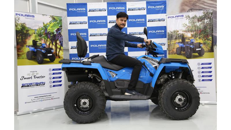 Polaris Sportsman 570 tractor launched in India at Rs 7.99 lakhs