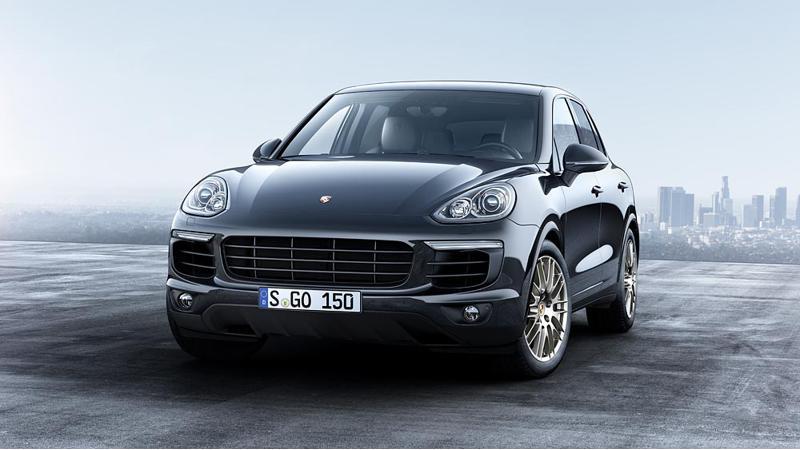 Platinum Edition Porsche Cayenne launched at Rs 1.06 crore