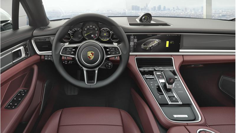 Optional extras on the Porsche Panamera Turbo Executive detailed