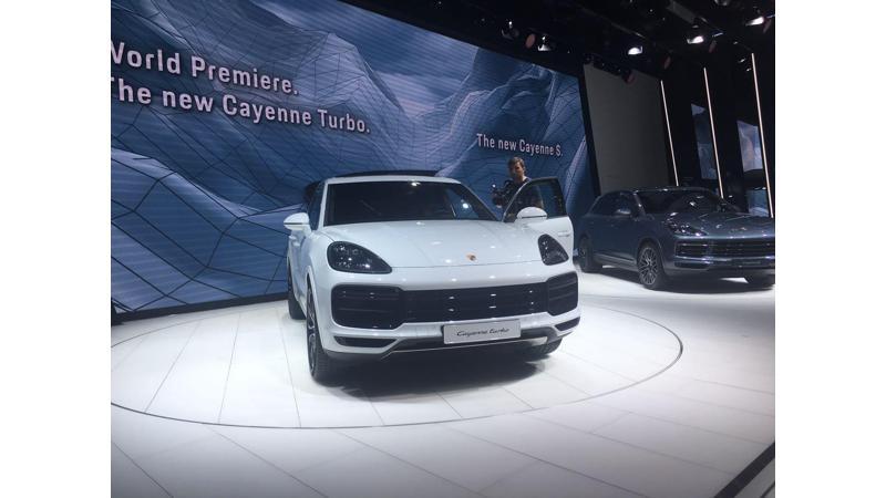 Frankfurt Auto Show 2017: Porsche showcases new-gen Cayenne