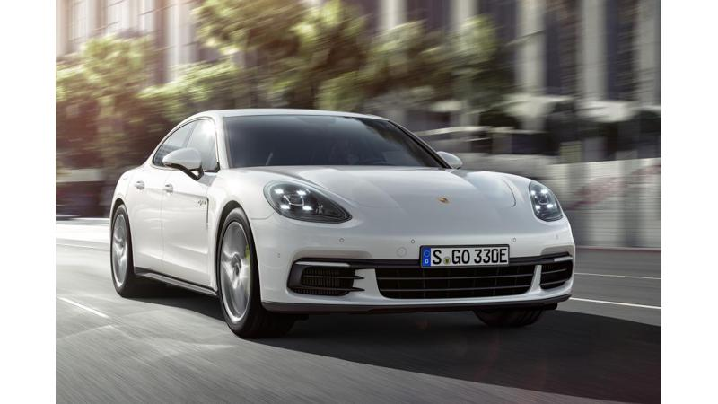 Porsche Panamera hybrid Gen 2 all set for Paris debut