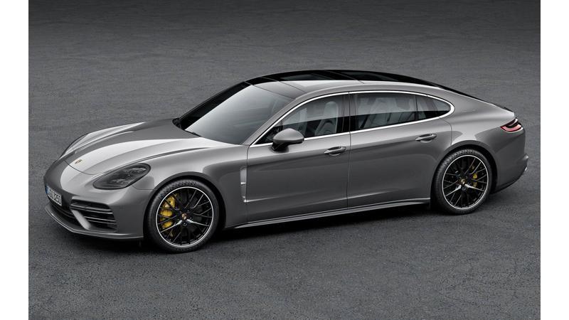 Porsche Panamera unveiled in long wheelbase form