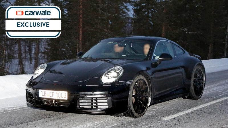 All new Porsche 911 spotted testing for the first time