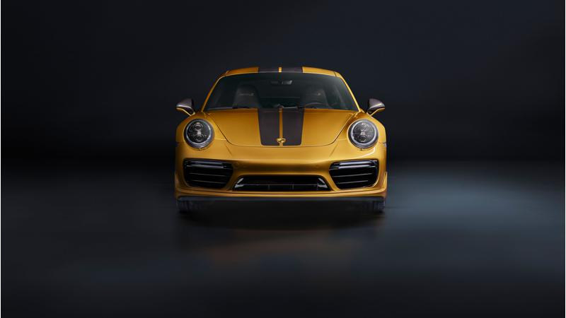 Porsche reveals the limited edition 911 Turbo S Exclusive Series