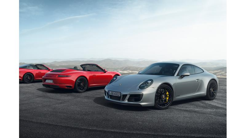 Porsche 911 GTS 991.2 update released at Detroit
