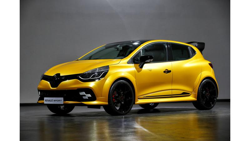 Renault Clio R.S. 16 concept marks Renault   s return to Formula 1