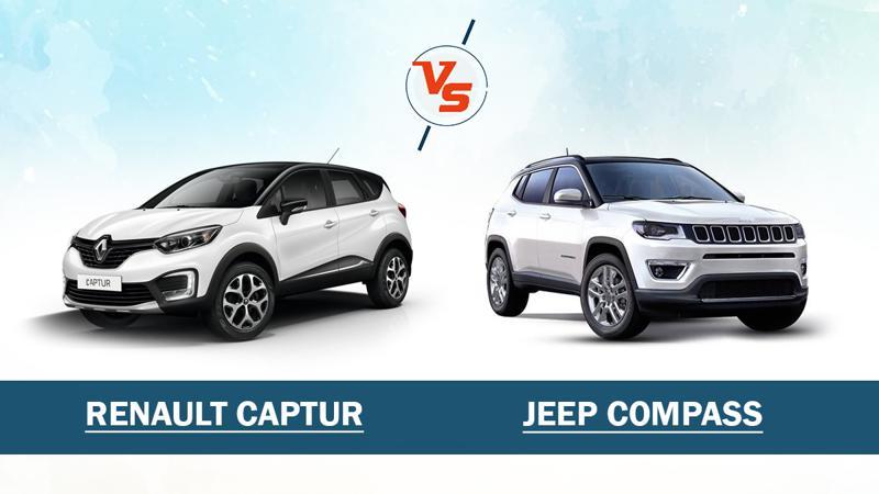 Spec Comparo: Renault Captur vs Jeep Compass
