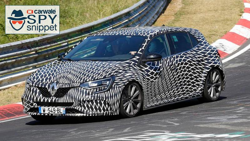 Renault Megane RS spotted testing at Nurburgring