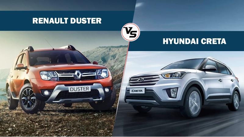 Spec comparo: Hyundai Creta Petrol AT vs Renault Duster petrol CVT