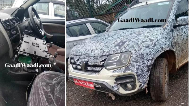 Renault Duster with BS-VI engine spied testing