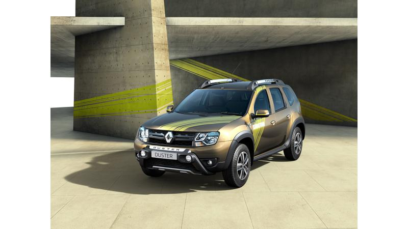 Top four changes on the Renault Duster Sandstorm edition