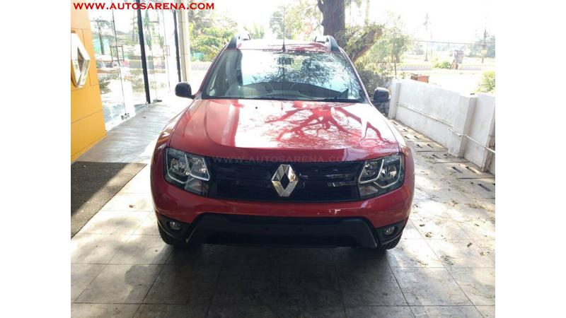 Renault Duster spotted with petrol automatic transmission