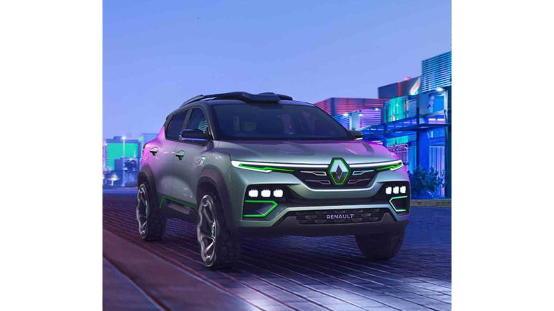 Renault Kiger concept SUV unveiled officially