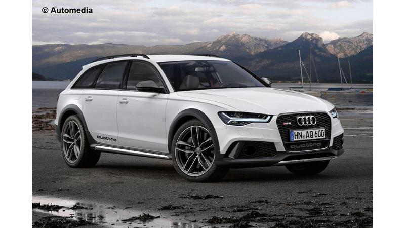 Rendering: Audi RS6 Allroad