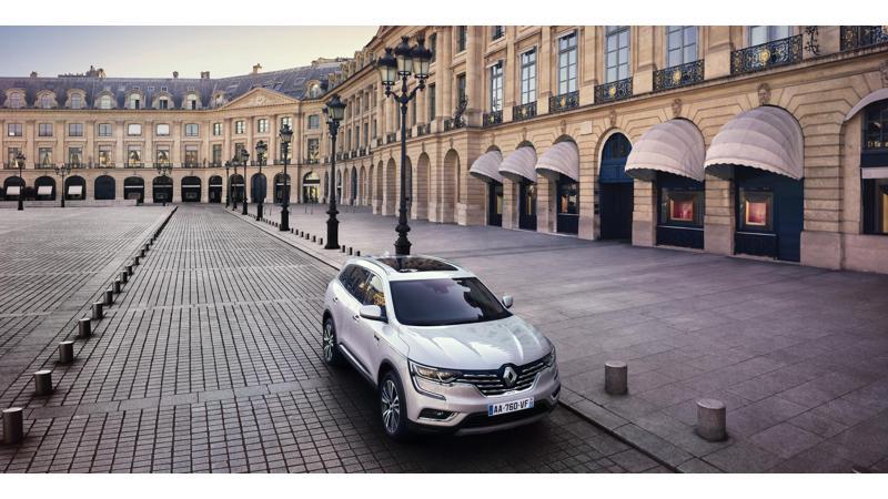 All-new Renault Koleos shown at 2016 Paris Motor Show