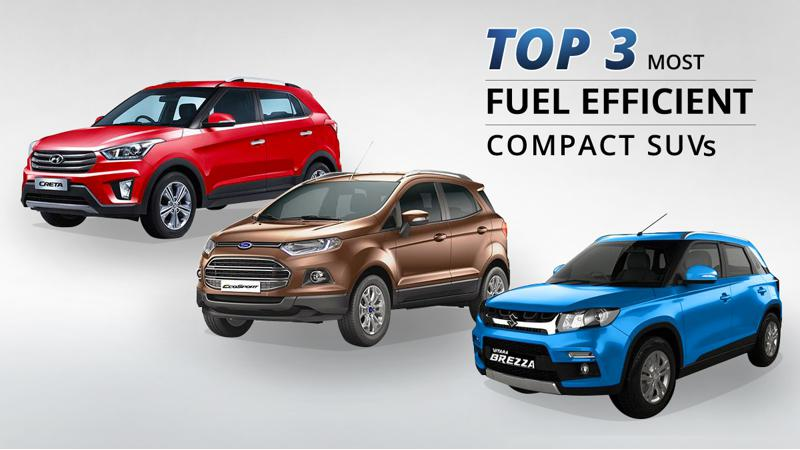 Revealed: Top 3 most fuel efficient compact SUVs