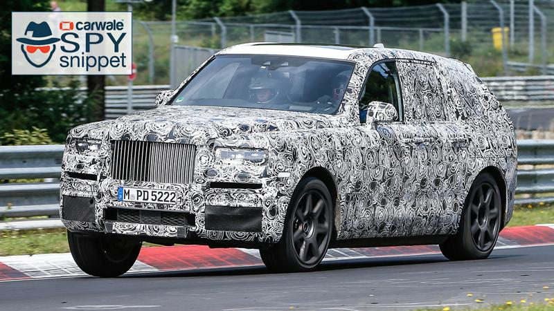 Rolls-Royce takes its Cullinan to the Nurburgring for tests