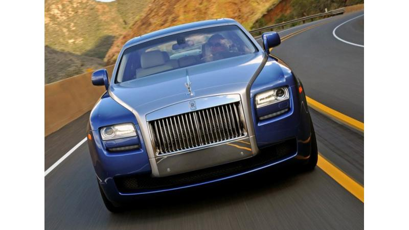 New Rolls-Royce Ghost facelift caught testing on Europe streets
