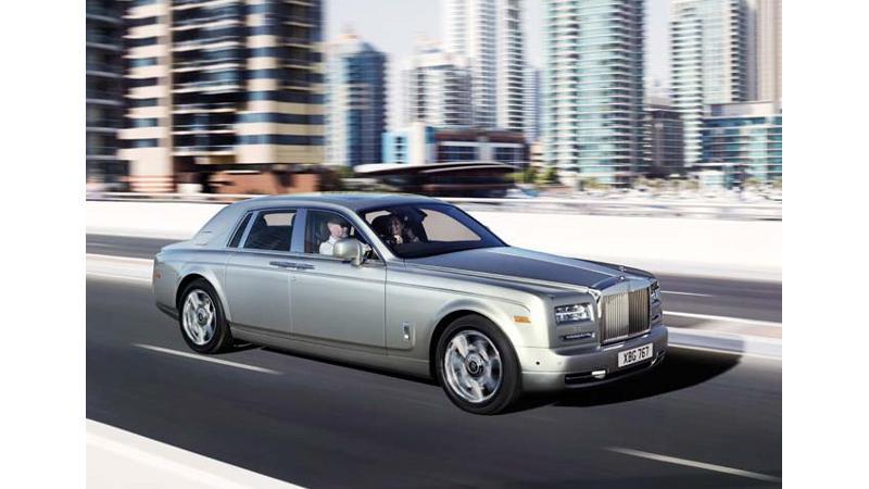 Rolls-Royce Phantom production ends