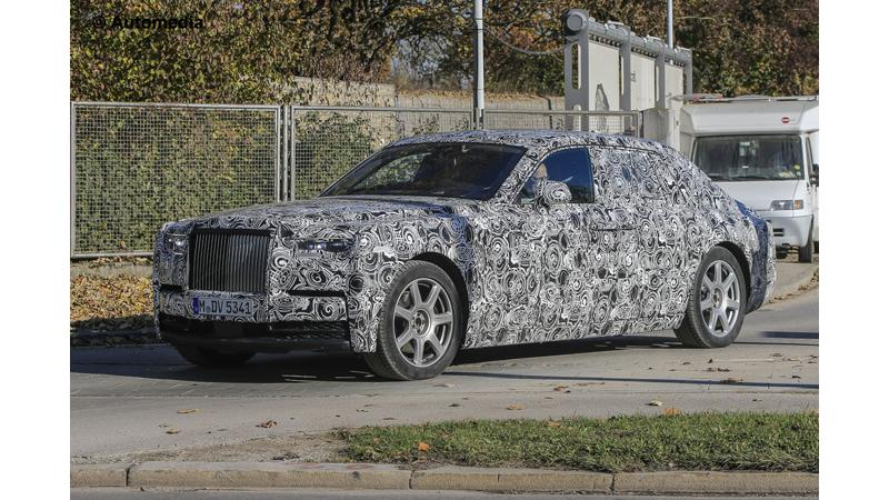 8th generation Rolls Royce Phantom to debut at the end of 2017