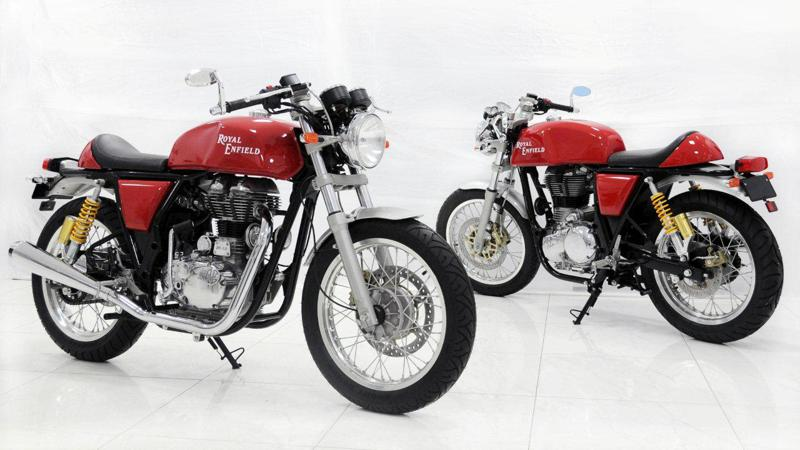 Royal Enfield Continental GT Cafe Racer to launch this festive season