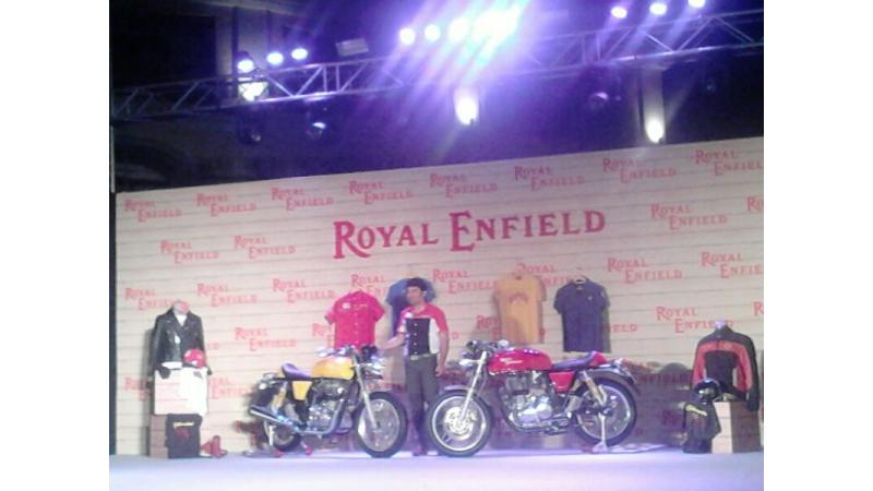 Royal Enfield Continental GT introduced in India at Rs. 2.05 lakh