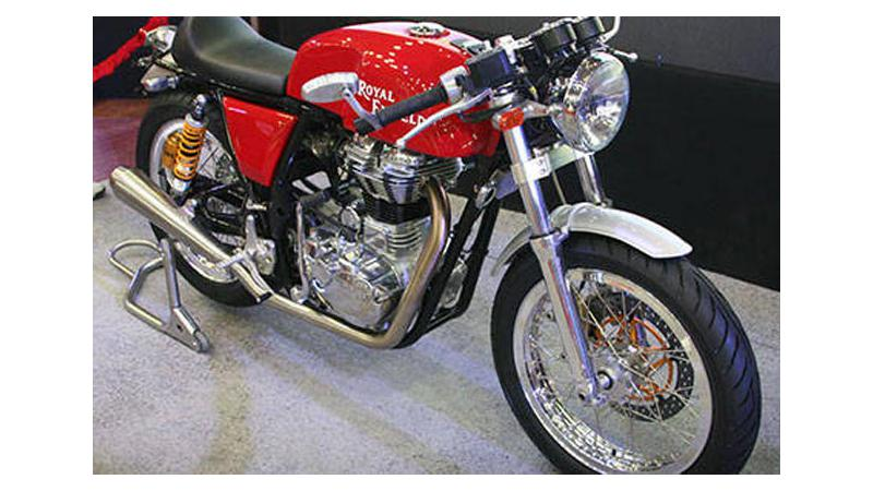Royal Enfield Continental GT all set to launch in India this October