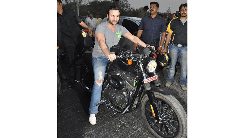 Saif Ali Khan to participate in a bike rally to encourage voting