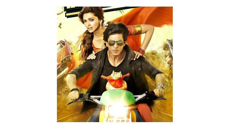 Shah Rukh Khan prefers bike to commute to the sets of 'Chennai Express'