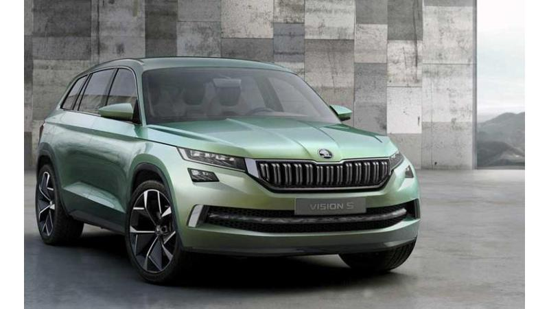 Skoda Vision S likely to be named Kodiaq