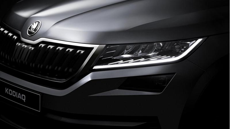Skoda releases official pictures of the Kodiaq