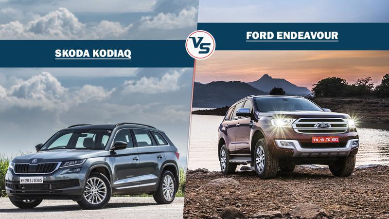 Skoda Kodiaq and Ford Endeavour specification comparison