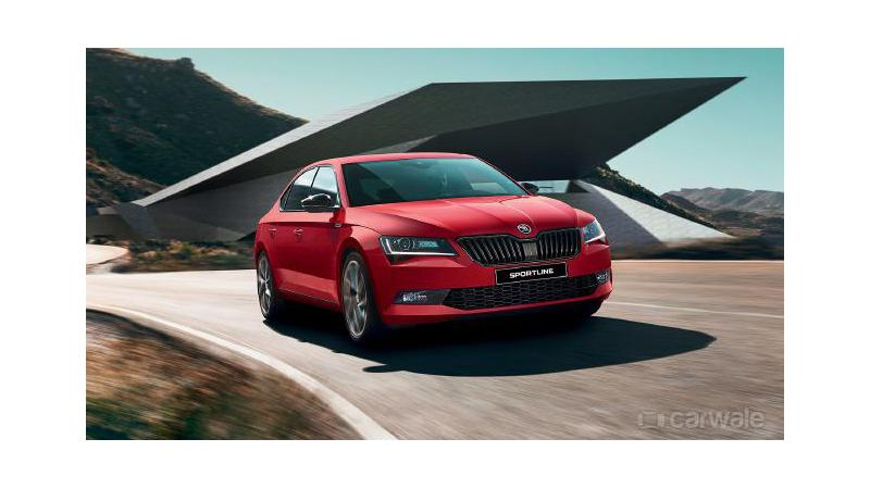 Skoda Superb Sportline introduced at Rs 28.99 lakhs