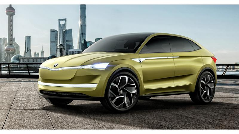 Skoda plans five electric cars by 2025