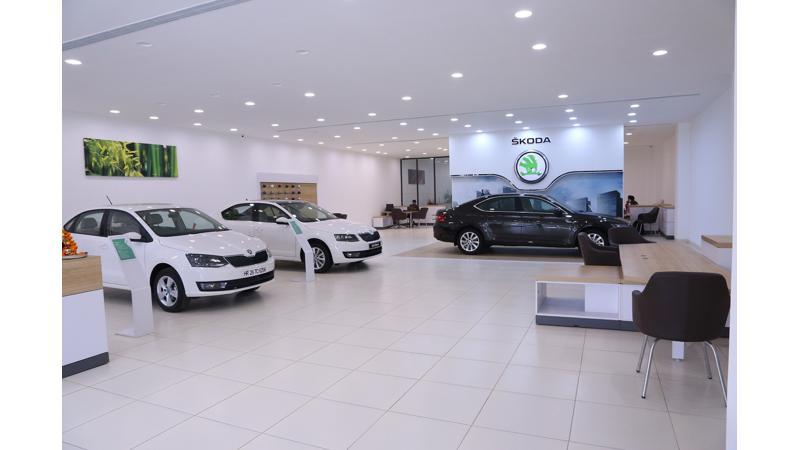 Skoda opens a new dealership in New Delhi
