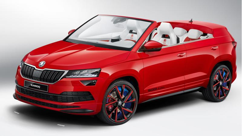 Skoda reveals one off Sunroq