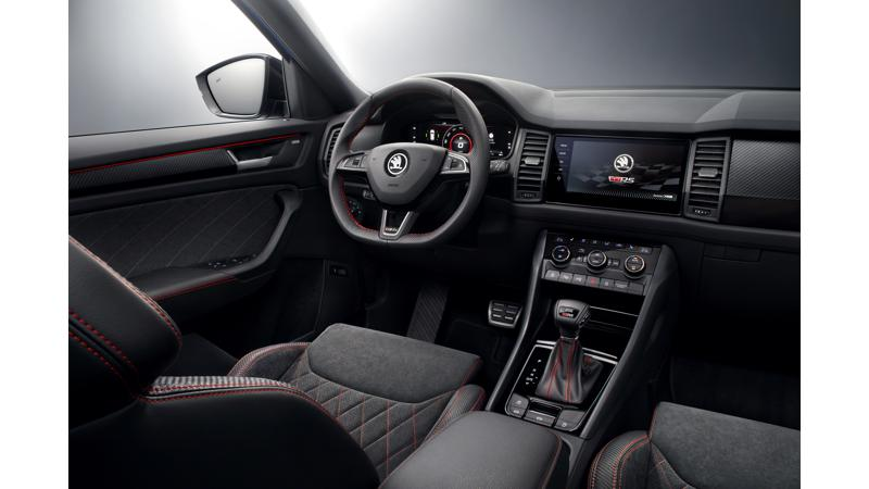 2019 Skoda Kodiaq RS interiors revealed