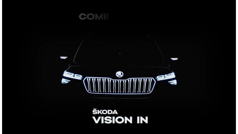New details on the Skoda Vision IN revealed ahead of Auto Expo unveil