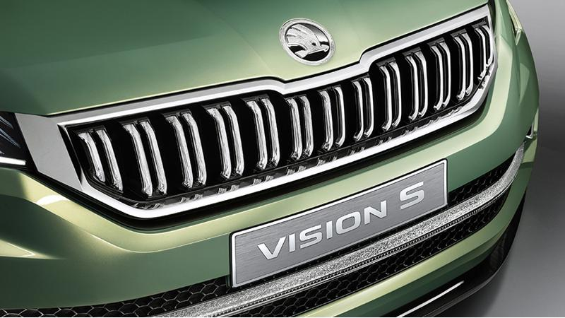 Skoda Vision E Concept teased ahead of Shanghai Motor Show unveiling