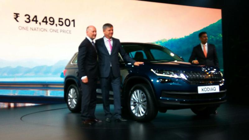 Skoda launches Kodiaq in India for Rs 34.49 lakhs