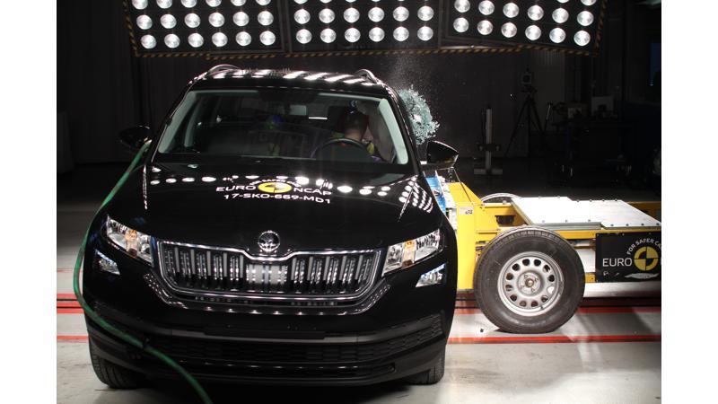 Skoda Kodiaq awarded five-star in Euro NCAP