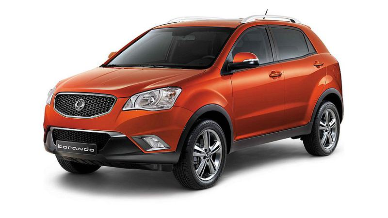 SsangYong Korando C to be introduced in India by 2014