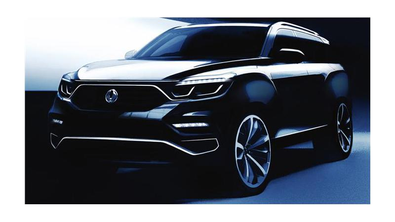 Next-Gen SsangYong Rexton revealed in sketches ahead of its official debut