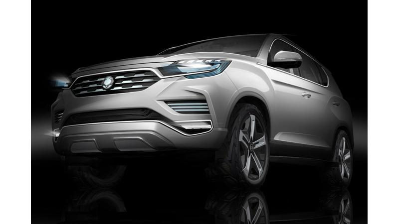Ssangyong's all new Rexton to debut in Paris