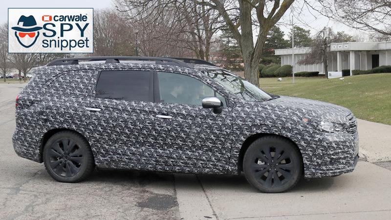 All new Subaru Ascent spied