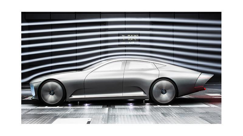 Superior aerodynamics to boost range of upcoming Merc EVs