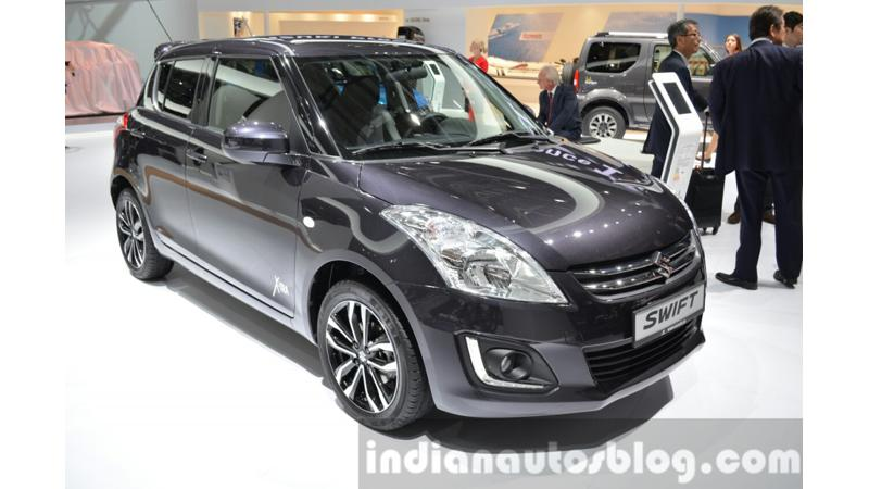 Suzuki showcases Swift XTRA Edition at 2015 Frankfurt Motor Show