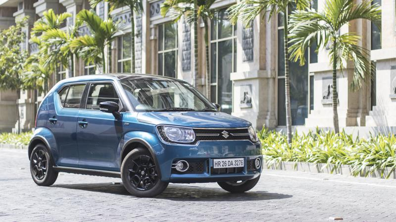 Maruti Suzuki launched the Ignis Alpha AMT at Rs 7.01 lakhs
